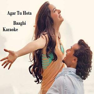 Agar Tu Hota Free Karaoke
