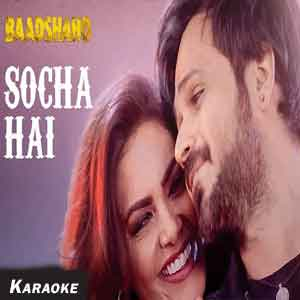 Socha Hai-Version 1 Free Indian Karaoke